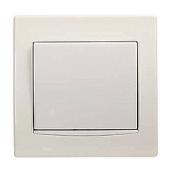 Кнопка Schneider Electric Anya AYA1600223 с подсветкой 81,5х81,5х42 мм кремовый