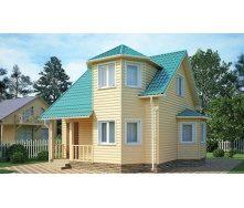 Дом из профилированного бруса 6х6 м