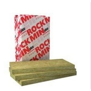 Мінеральна вата Rockwool Rockmin Plus 100 мм 100x1000x610 мм