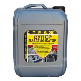 Пластификатор СТРАЖ-29 для бетонных и цементных растворов 5 л