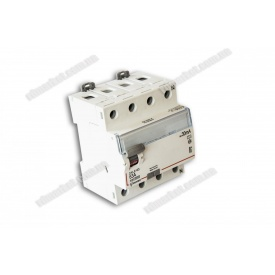 Диференційне реле DXLE-66 40A/30mA 4P 6kA AC