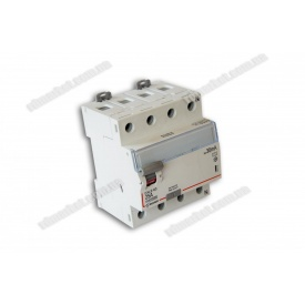 Диференційне реле DXLE-65 25A/30mA 4P 6kA AC