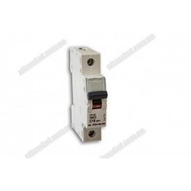 Автоматичний вимикач DX-63 1P 16A 6kA AC