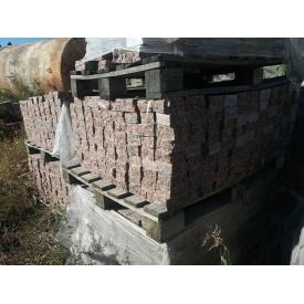 Брусчатка пилено-колотая Капустянского месторождения 100x100x50 мм