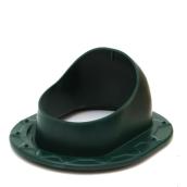 Проходной элемент для фальцевой и битумной кровли Polivent полимер 150х330х265 мм зеленый