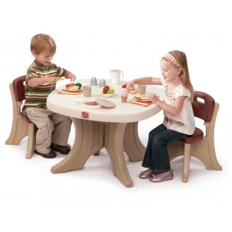 Стіл дитячий і 2 стільці TABLE & CHAIRS SET 50x69x69 см 54x34x33 см