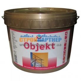 Краска акрилатная Eskaro Objekt изолирующая глубокоматовая 2,7 л
