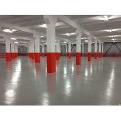 Пристрій підлоги для промислових будівель
