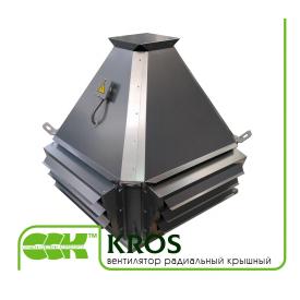 Вентилятор KROS крышный радиальный с выходом потока в стороны