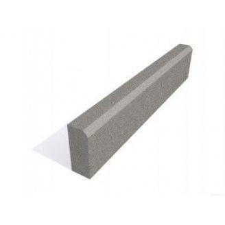 Поребрик 50x20x6 см серый