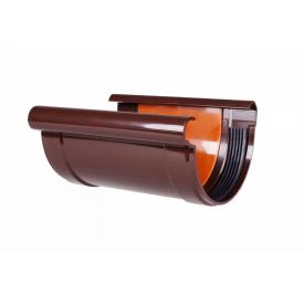 З'єднання єднувач ринви Profil 130 коричневий