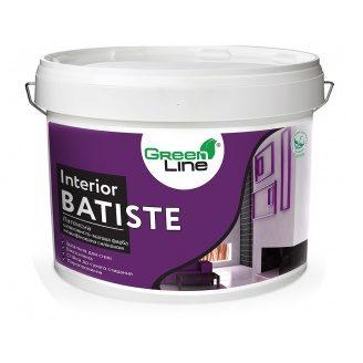 Латексная шелковисто-матовая краска модифицированная силиконом Interior Batist 10 л