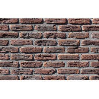Плитка ручной работы Loft Brick МФ 50 Карбон NF 190х20х50 мм