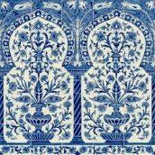 Панно Doremail Тунисская Kinz Bleu майолика 100х100х0,8 см (F00071T10110)