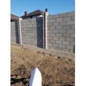 Заборный камень 36х17х17 см