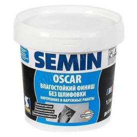 Шпатлевка готовая супердробная SEMIN OSCAR 5 кг