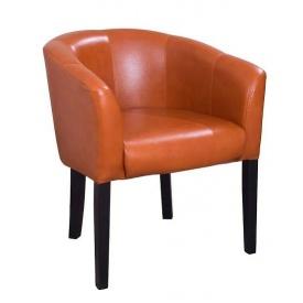 М'яке крісло Richman Версаль 80х65х65 см кожзам глянець
