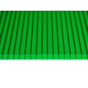 Сотовый поликарбонат Sotalight 6 мм 12000х2100 мм зеленый (20180504)