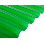 Поликарбонат монолитный BorreX Трапеция 0,8 мм 1050x2000 мм зеленый (20180195)