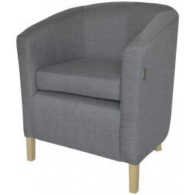 М'яке крісло Richman Бафі 800х650х650 мм сіре