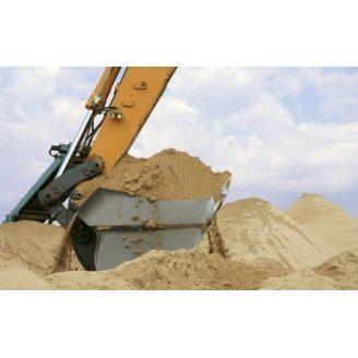 Строительный песок овражный насыпью