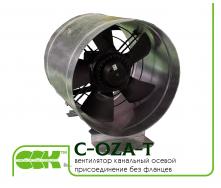 Вентилятор канальный осевой с присоединением без фланцев C-OZA-T-025-220
