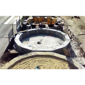 Влаштування бетонного стрічкового фундаменту
