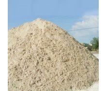 Строительный речной песок насыпью