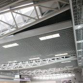 Потолок Грильято GL15 жалюзи из алюминия 200x300