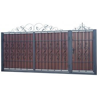 Ковані ворота та хвіртка В-14