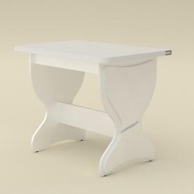 Розкладний стіл Компаніт КС-4 дсп 1180х590-900х731 мм білий
