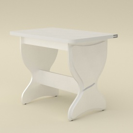 Раскладной стол Компанит КС-4 дсп 1180х590-900х731 мм белый