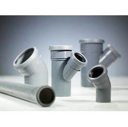 Тройник 45 градусов канализационной трубы PipeLife Comfort 50 мм