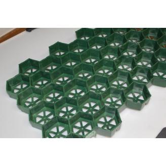 Газонная решетка Ecoteck Green зеленая