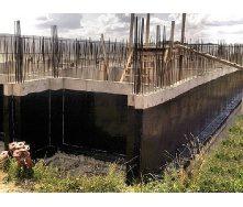 Наплавляєма гідроізоляція стін