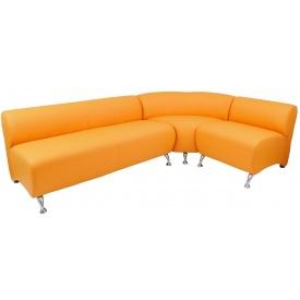 Угловой комплект диванчика Флорида Ричман желтый 4-х местный