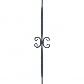 Кованая стойка прямая 950х180 мм (21.023.11)