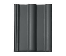 Цементно-піщана черепиця BRAAS Франкфурт Lumino 420х330 мм графіт