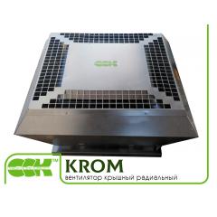 KROM вентиляторы крышные радиальные малой высоты с выходом потока вверх