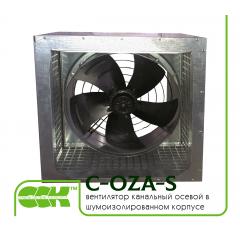 C-OZA-S вентилятор канальный осевой в шумоизолированном корпусе