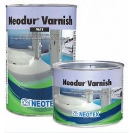 Двухкомпонентный акрил-полиуретановый матовый лак Neodur Varnish Mat