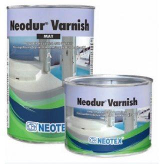 Двокомпонентний акрил-поліуретановий матовий лак Neodur Varnish Mat