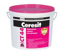 Акриловая краска Ceresit CT 44 10 л белый