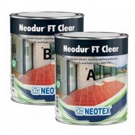 Жидкая гидроизоляция для террасы Neodur FT Clear прозрачная