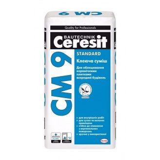 Клеевая смесь Ceresit CM 9 STANDARD 25 кг