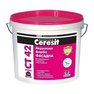 Акрилова фарба Ceresit CT 42 10 л
