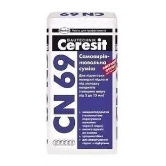 Самовирівнююча суміш Ceresit CN 69 25 кг
