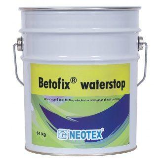Краска для защиты влажных помещений и стен Betofix Waterstop гидроизоляция