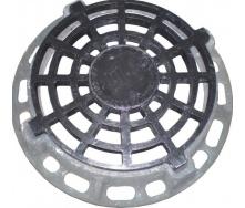 Дощоприймач круглий ДК ІН чавунний 870х115 мм