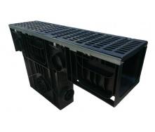 Пісковловлювач Ecoteck HEAVY 200 253х1000х654 мм з чавунною щілинною решіткою